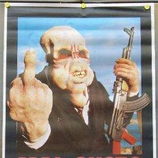 Cine: T01540 MAL GUSTO BAD TASTE PETER JACKSON TERROR GORE POSTER ORIGINAL 70X100 DEL ESTRENO. Lote 15194070