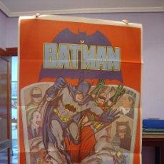 Cine: BATMAN CARTEL DE CINE ORIGINAL MUY DECORATIVO JUVENIL. Lote 16405715