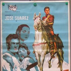 Cine: T01553 DIEGO CORRIENTES ISASI JOSE SUAREZ POSTER DE SOLIGO ORIGINAL 70X100. Lote 4297698