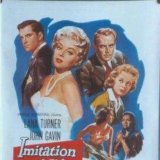 Cine: T01573 IMITACION A LA VIDA LANA TURNER POSTER ORIGINAL 70X100. Lote 4297940