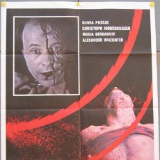 Cine: AAV23D COLEGIALAS VIOLADAS JESUS FRANCO POSTER ORIGINAL 100X140 ITALIANO. Lote 15556526