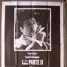 Cine: T01650 EL PADRINO 2 COPPOLA AL PACINO POSTER GIGANTE ORIGINAL 140X200 ITALIANO. Lote 22478217
