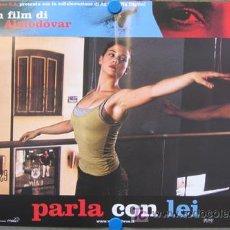 Cine: JW90 HABLE CON ELLA PEDRO ALMODOVAR ROSARIO FLORES SET DE 6 POSTERS ORIGINAL ITALIANO 47X68. Lote 15452077