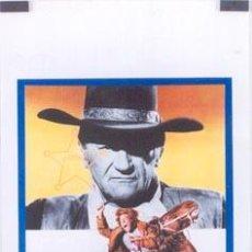 Cine: T01725 LA SOGA DE LA HORCA CAHILL JOHN WAYNE POSTER ORIGINAL 33X70 ITALIANO. Lote 4381006