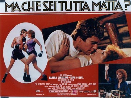 Cine: SH96 COMBATE DE FONDO BARBRA STREISAND SET DE 10 POSTERS ORIGINAL ITALIANO 47X68 - Foto 9 - 4402986