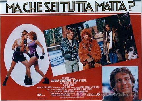 Cine: SH96 COMBATE DE FONDO BARBRA STREISAND SET DE 10 POSTERS ORIGINAL ITALIANO 47X68 - Foto 8 - 4402986
