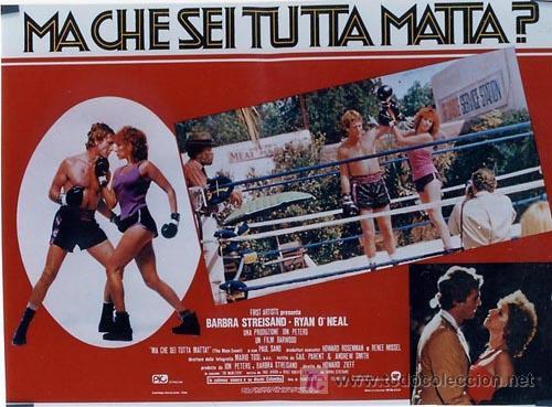 Cine: SH96 COMBATE DE FONDO BARBRA STREISAND SET DE 10 POSTERS ORIGINAL ITALIANO 47X68 - Foto 10 - 4402986