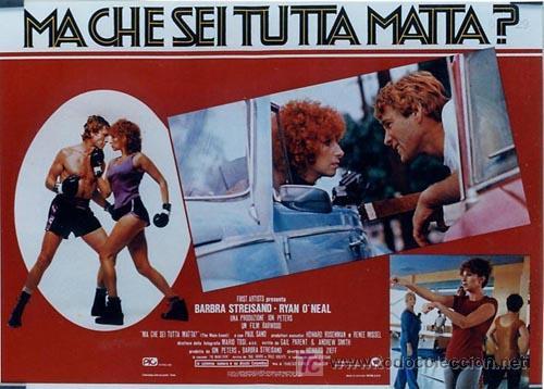 Cine: SH96 COMBATE DE FONDO BARBRA STREISAND SET DE 10 POSTERS ORIGINAL ITALIANO 47X68 - Foto 7 - 4402986