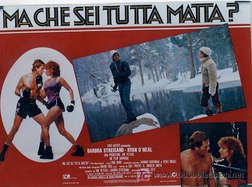 Cine: SH96 COMBATE DE FONDO BARBRA STREISAND SET DE 10 POSTERS ORIGINAL ITALIANO 47X68 - Foto 5 - 4402986
