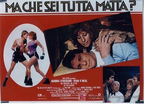 Cine: SH96 COMBATE DE FONDO BARBRA STREISAND SET DE 10 POSTERS ORIGINAL ITALIANO 47X68 - Foto 2 - 4402986