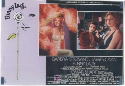 Cine: VX10D FUNNY LADY BARBRA STREISAND SET DE 8 POSTERS ORIGINAL ITALIANO 47X68 - Foto 5 - 4402974