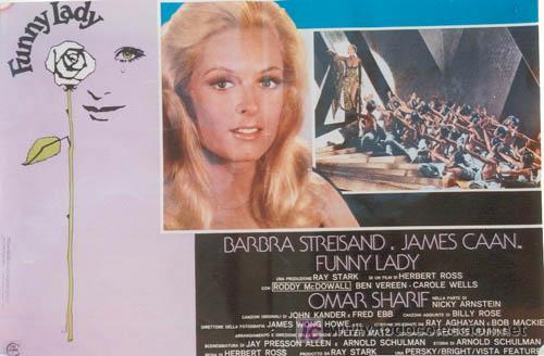 Cine: VX10D FUNNY LADY BARBRA STREISAND SET DE 8 POSTERS ORIGINAL ITALIANO 47X68 - Foto 8 - 4402974