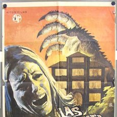 Cine: T01833 LAS GARRAS DE LORELEI AMANDO DE OSSORIO POSTER ORIGINAL 70X100 DEL ESTRENO. Lote 13425268