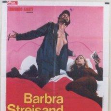 Cine: SK33 UP THE SANDBOX BARBRA STREISAND POSTER ORIGINAL 100X140 ITALIANO. Lote 4595600