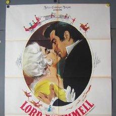 Cine: XX27D BEAU BRUMMELL ELIZABETH TAYLOR STEWART GRANGER POSTER ORIGINAL 100X140 ITALIANO. Lote 19490717