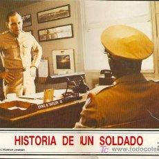 Cine: CARTEL FOTOCROMO DE HISTORIA DE UN SOLDADO. Lote 4675365