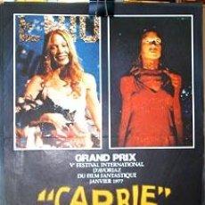 Cine: CARRIE. (1976) (S.SPACEK- J.TRAVOLTA). Lote 9265623