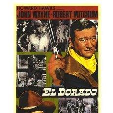 Cine: EL DORADO. (1969) (J.WAYNE-R.MITCHUM). Lote 7791751