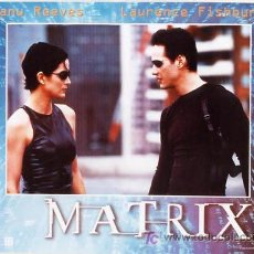 Cine: T00988 THE MATRIX KEANU REEVES SET DE 6 POSTERS ORIGINAL ITALIANO 47X68. Lote 10317154