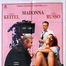 Cine: QM44 DANGEROUS GAME MADONNA HARVEY KEITEL ABEL FERRARA POSTER ORIGINAL 100X140 ITALIANO. Lote 4699769