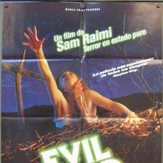 Cine: T01799 POSESION INFERNAL EVIL DEAD SAM RAIMI POSTER ORIGINAL 70X100 ESPAÑOL. Lote 4701679