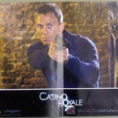 Cine: T01990 CASINO ROYALE JAMES BOND 007 DANIEL CRAIG SET DE 6 POSTERS ORIGINAL ITALIANO 47X68. Lote 20641131