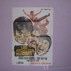 Cine: LOS MAGNIFICOS DEL KARATE. Lote 7409062