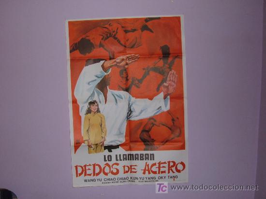 LO LLAMABAN DEDOS DE ACERO (Cine - Posters y Carteles - Bélicas)