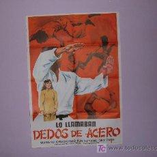 Cine: LO LLAMABAN DEDOS DE ACERO. Lote 7409126