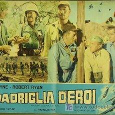 Cine: VF60D INFIERNO EN LAS NUBES JOHN WAYNE POSTER ORIGINAL ITALIANO 47X68 A. Lote 4988505