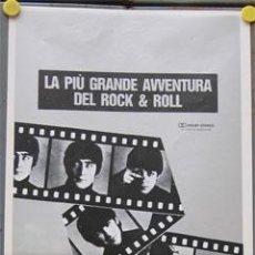 Cine: SN29 QUE NOCHE LA DE AQUEL DIA THE BEATLES POSTER ORIGINAL ITALIANO 33X70. Lote 23900940