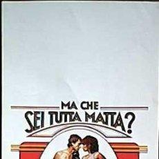 Cine: SH69 COMBATE DE FONDO BARBRA STREISAND BOXEO POSTER ORIGINAL ITALIANO 33X70. Lote 4856379