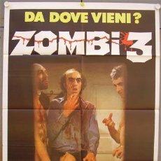 Cine: ZL74D NO PROFANAR EL SUEÑO DE LOS MUERTOS JORGE GRAU POSTER ORIGINAL ITALIANO 100X140. Lote 16328222