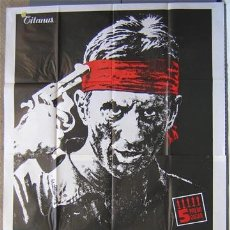Cine: SB56D EL CAZADOR THE DEER HUNTER ROBERT DE NIRO CIMINO POSTER ORIGINAL ITALIANO 140X200. Lote 19625840