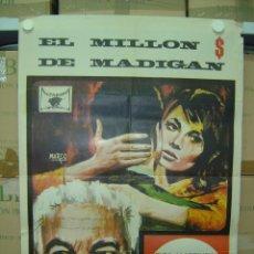 Cine: EL MILLON DE MADIGAN - ELSA MARTINELLI, DUSTIN HOFFMAN - AÑO 1968. Lote 10998392
