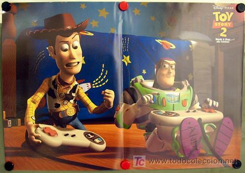 Cine: T02087 TOY STORY 2 WALT DISNEY PIXAR ANIMACION SET 6 POSTERS ORIGINALES ITALIANOS 47X68 - Foto 5 - 21347596