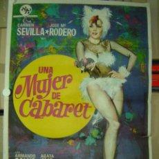 Cine: UNA MUJER DE CABARET - CARMEN SEVILLA, JOSE Mª RODERO - AÑO 1974. Lote 7998592