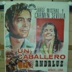 Cine: UN CABALLERO ANDALUZ - CARMEN SEVILLA, JORGE MISTRAL - AÑO 1969. Lote 113143322