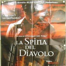 Cine: T02155 EL ESPINAZO DEL DIABLO GUILLERMO DEL TORO POSTER ORIGINAL 140X200 ITALIANO. Lote 5076535