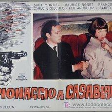 Cine: T02193 NOCHES DE CASABLANCA SARA MONTIEL POSTER ORIGINAL ITALIANO 47X68 C2. Lote 5077952
