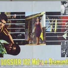 Cine: T02195 SAMBA SARA MONTIEL RAFAEL GIL POSTER ORIGINAL ITALIANO 47X68. Lote 5077983