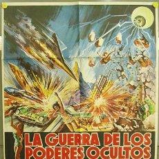 Cine: T02274 LA GUERRA DE LOS PODERES OCULTOS ESUPAI JUN FUKUDA TOHO POSTER ORIGINAL 70X100 DEL ESTRENO. Lote 5091960