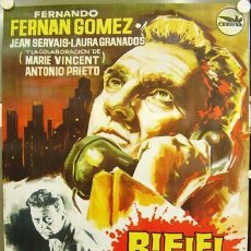 Cine: T02344 RIFIFI EN LA CIUDAD JESUS FRANCO FERNANDO FERNAN GOMEZ POSTER ORIGINAL 70X100 DEL ESTRENO. Lote 6295189