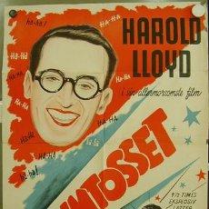 Cine: XH51D CINEMANIA HAROLD LLOYD POSTER ORIGINAL DANES 62X85. Lote 18883576