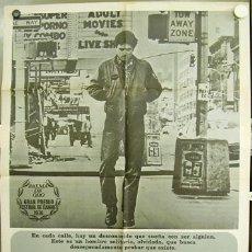 Cine: T02415 TAXI DRIVER ROBERT DE NIRO MARTIN SCORSESE POSTER ORIGINAL 70X100 ESTRENO 1976. Lote 7152766