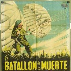 Cine: T02572 EL BATALLON DE LA MUERTE PIERRE BLANCHAR POSTER ORIGINAL 70X100 DEL ESTRENO LITOGRAFIA. Lote 5213849