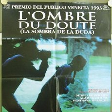 Cine: T02633 LA SOMBRA DE LA DUDA ALINE ISSERMAN POSTER ORIGINAL ESTRENO 70X100. Lote 5221071