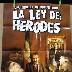 Cine: LA LEY DE HERODES. Lote 5241907