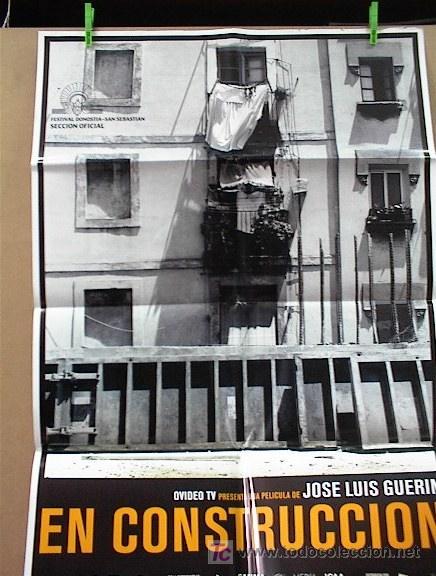 EN CONSTRUCCION (Cine - Posters y Carteles - Clasico Español)