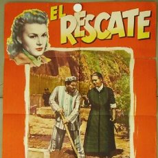 Cine: T03066 EL RESCATE FOLCO LULLI POSTER ORIGINAL ESPAÑOL 70X100 ESTRENO. Lote 5343957
